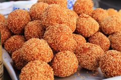 Deep Fried Sesame Ball Royalty Free Stock Images