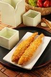 Deep fried shishamo fish Stock Photos