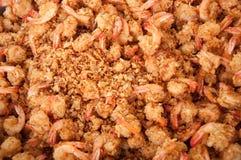 Deep-fried-shrimp Royalty Free Stock Image