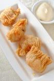 Deep fried shrimp puffy Royalty Free Stock Image