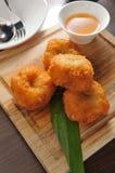 Deep fried shrimp Stock Photography