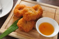 Deep fried shrimp Royalty Free Stock Photo