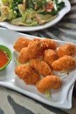 Deep fried shrimp Royalty Free Stock Photography