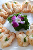 Deep fried shrimp toast Stock Photo