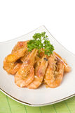 Deep Fried Shrimps Stock Photo