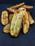 Deep fried sliced banana thailand. Deep-fried sliced banana thailand Royalty Free Stock Photo