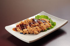 Deep-Fried Spare Ribs Royalty Free Stock Photo