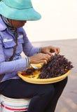 Deep fried tarantula spiders Royalty Free Stock Image