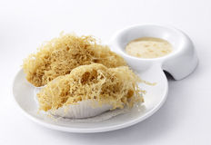Deep fried taro root dumpling Royalty Free Stock Images