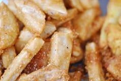 Deep fried taro Stock Images