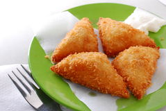 Deep fried toast Stock Image