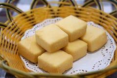 Deep fried tofu Stock Images