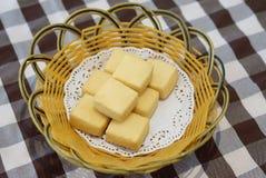 Deep fried tofu Royalty Free Stock Photography