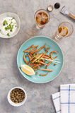 Deep Fried Whitebait Royalty Free Stock Photography