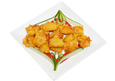 Deep Fried Wonton Royalty Free Stock Photo