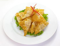 Deep Fried Wonton Stock Photography