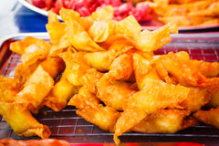Deep Fried Wonton. Royalty Free Stock Photography
