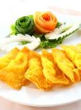 Deep Fried Wonton or dumpling royalty free stock images