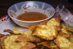 Deep Fried Wonton Stock Photos