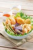 Deep friend tempura Stock Photography