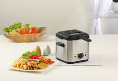 Deep fryer machine. Let's do your french fry by using deep fryer machine comfortable and fast Stock Photography