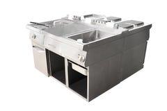 Deep fryer and restaurant stove Stock Photos