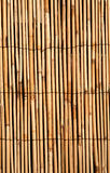 Deep golden bamboo texture bac Royalty Free Stock Photography