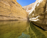 A deep gorge royalty free stock photography