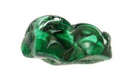 Deep green malachite Stock Photo