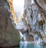 Deep Harmony Canyon in Turkey Stock Photos