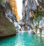 Deep Harmony Canyon in Turkey. Near Goynuk Royalty Free Stock Photography