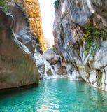 Deep Harmony Canyon in Turkey Royalty Free Stock Photography