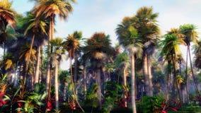 Deep Jungle. High quality deep jungle illustration Stock Photography