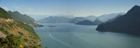 Deep lake in mountains Royalty Free Stock Image