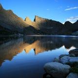 Deep Lake reflection Stock Images