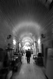 From the deep light tunnel. This photo was taken from a historic bazaar during day time Stock Images