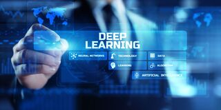 Free Deep Machine Learning Artificial Intelligence Neural Networks Automation Modern Technology Concept. Stock Images - 198639744