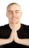 Deep meditation Royalty Free Stock Images