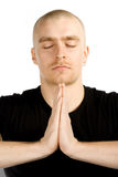 Deep meditation Stock Image
