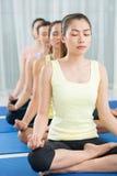 Deep meditation Royalty Free Stock Photos