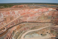 Deep Mine at cobar Stock Photography