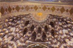 Deep niches in Guri Amir Royalty Free Stock Photo
