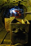 Deep in the uranium mine Royalty Free Stock Image