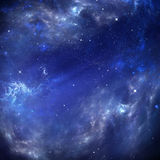 Deep outer space, background Stock Photo