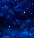 Deep outer space, background Stock Image