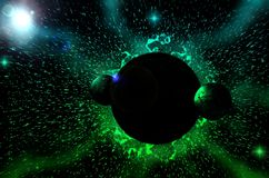Black hole. Предложить исправление Royalty Free Stock Photo