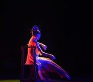 Deep palace resentment-Classical folk dance Stock Photos