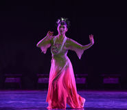 Deep palace resentment-Classical folk dance Royalty Free Stock Images