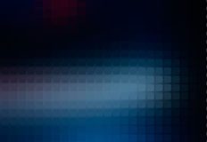 Deep and pale blue abstract rounded mosaic background Royalty Free Stock Images
