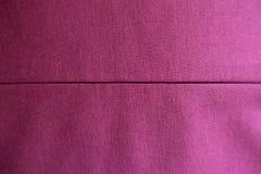 Deep pink stockinette fabric with horizontal stitch Stock Photography